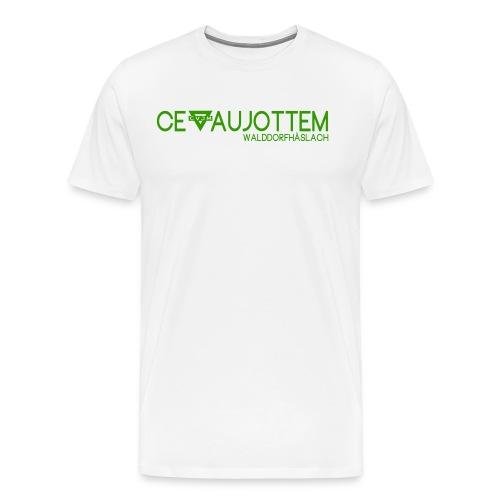 motiv1 green png - Männer Premium T-Shirt