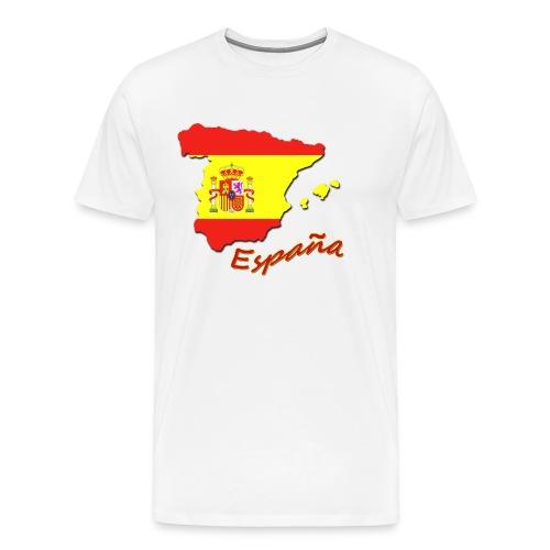 espana flag - Men's Premium T-Shirt