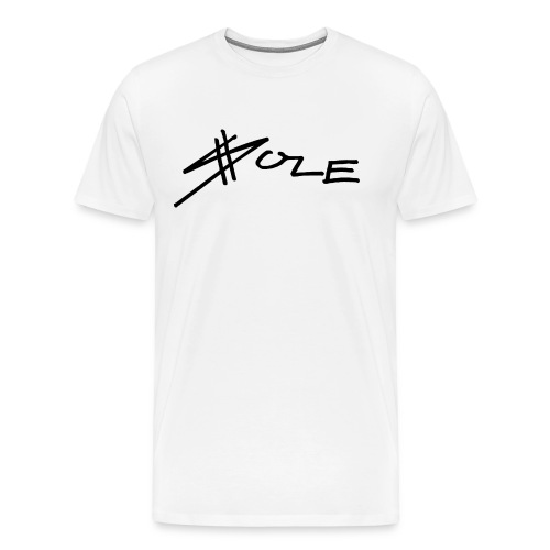 SOLE Logo Writing 2 Colour Longsleeve Tee - Männer Premium T-Shirt