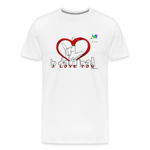 I love you GTS - T-shirt Premium Homme