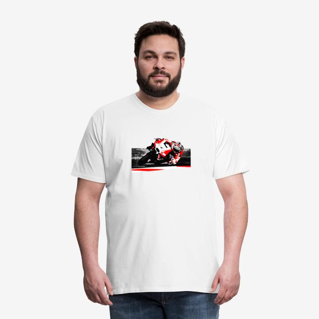 DM t shirt superbike red moto artwork png