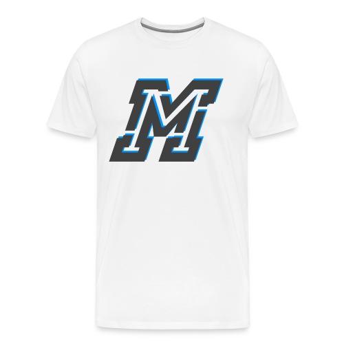 MMMMM png - Premium-T-shirt herr