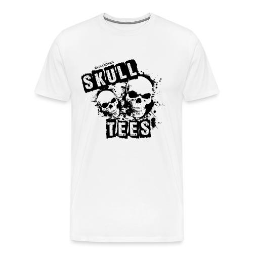 2skullsmain schwarz png - Männer Premium T-Shirt