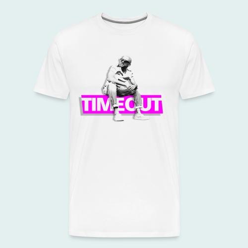 timeout magenta.png - Männer Premium T-Shirt