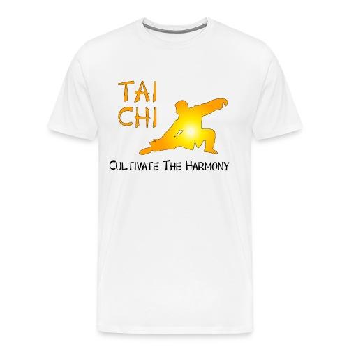 Tai Chi - Cultivate The Harmony - Men's Premium T-Shirt