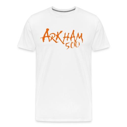 logo_arkham_500_trykk3 - Premium T-skjorte for menn