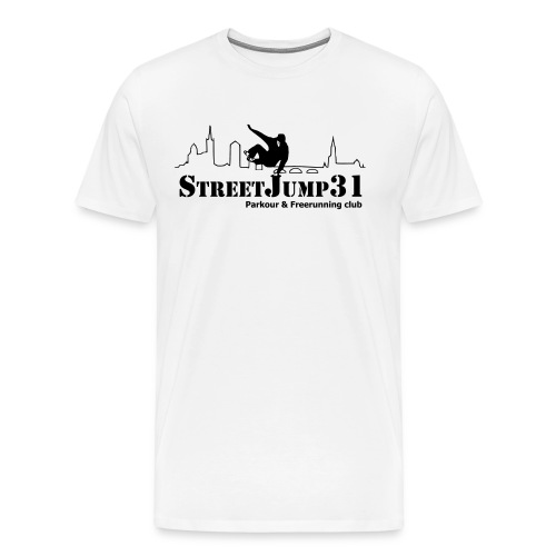 StreetJump31 - Parkour & Freerunning Club - T-shirt Premium Homme