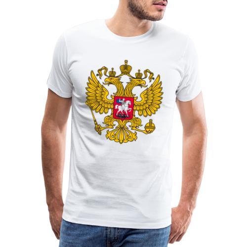 Russland-Wappen / Герб Российской Федерации - Männer Premium T-Shirt