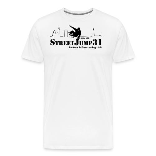 StreetJump31 - Parkour & Freerunning Club - T-shirt Premium Homme