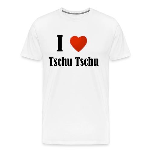 I Love Tschu Tschu - Männer Premium T-Shirt