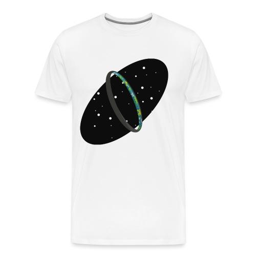 HaloRingworldDark png - Men's Premium T-Shirt