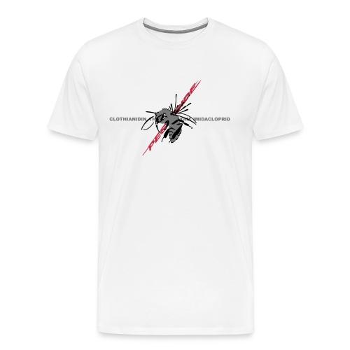 Biene und Pestizid - Männer Premium T-Shirt