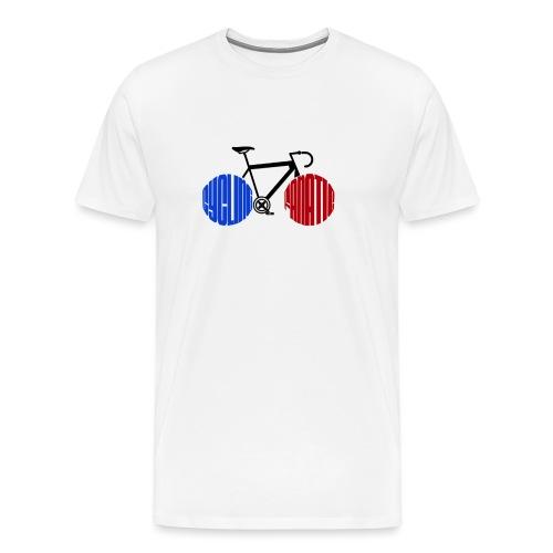 Cycling Fanatic - Men's Premium T-Shirt