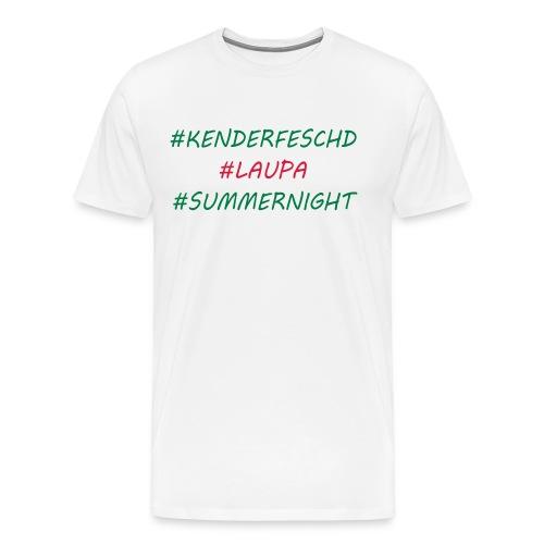 Kenderfeschd Laupa - Männer Premium T-Shirt