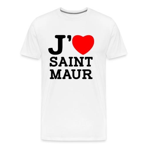 J'aime Saint-Maur ! - T-shirt Premium Homme