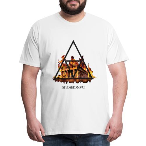 DANGEROUS FIRE - Maglietta Premium da uomo