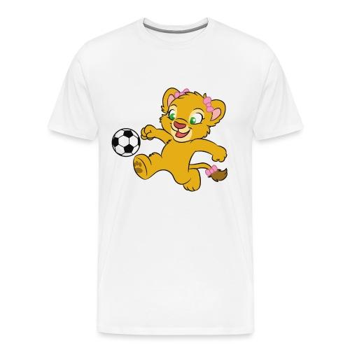 Leah mit Schleifen - Männer Premium T-Shirt