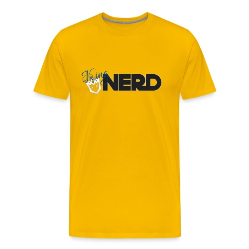 King-Nerd - Men's Premium T-Shirt
