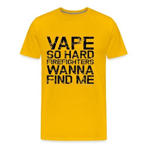 Vape so hard - Men's Premium T-Shirt