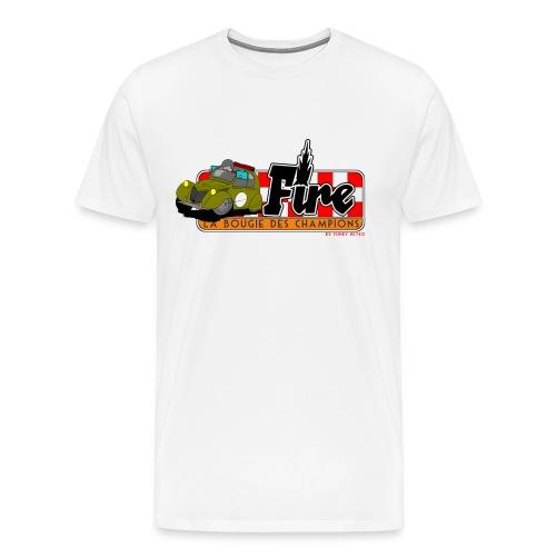 2cv FIRE - T-shirt Premium Homme