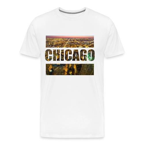 Chicago - Männer Premium T-Shirt