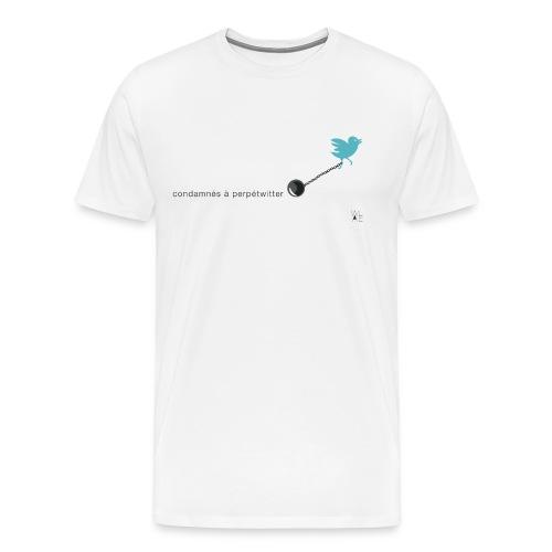 condamnes def2 - Men's Premium T-Shirt