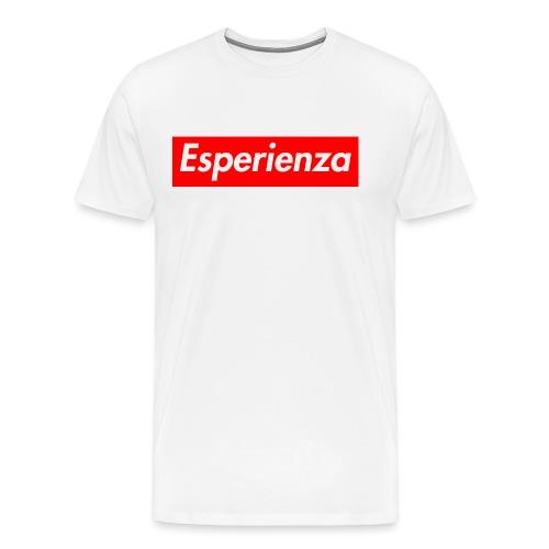 Esperienza logo box - Maglietta Premium da uomo