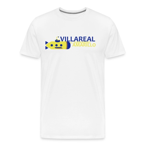 Villareal - Camiseta premium hombre
