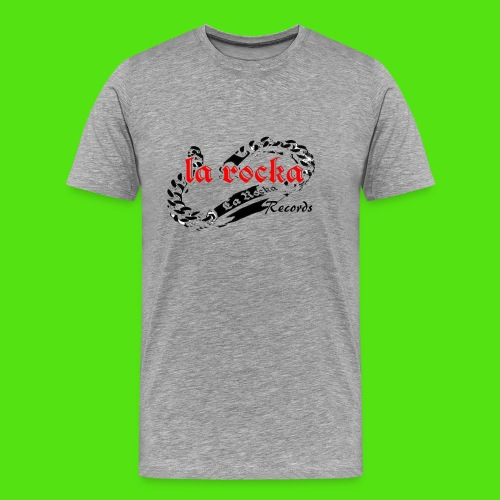 La Rocka - white'n'red2 - Men's Premium T-Shirt
