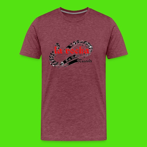 La Rocka - white'n'red2 - Men's Premium T-Shirt