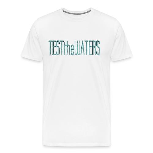 TESTtheWATERS BETA BLUE - Men's Premium T-Shirt