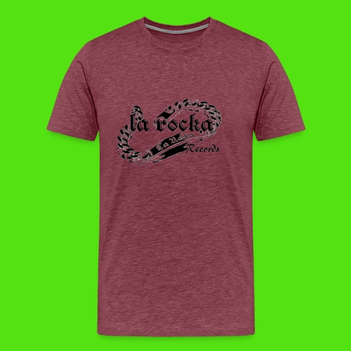 La Rocka - white'n'black2 - Men's Premium T-Shirt