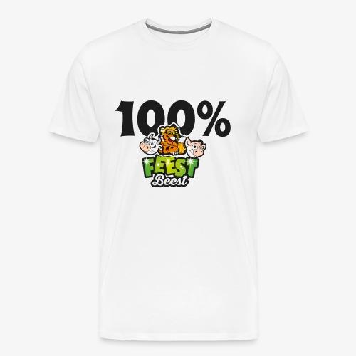 FeestBeesten - Mannen Premium T-shirt