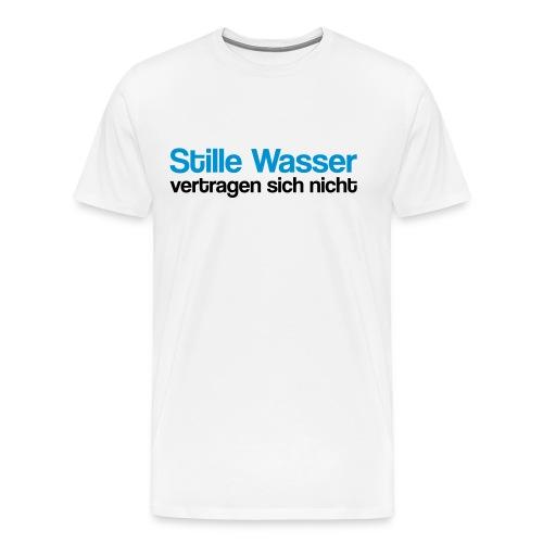 Stille Wasser - Männer Premium T-Shirt