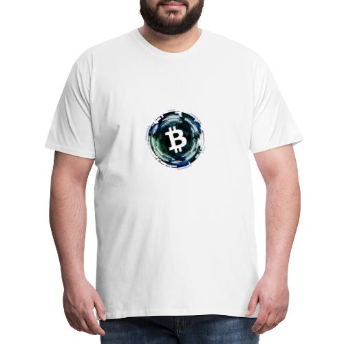 Bitcoin, Kyrptowährung, BTC - Männer Premium T-Shirt