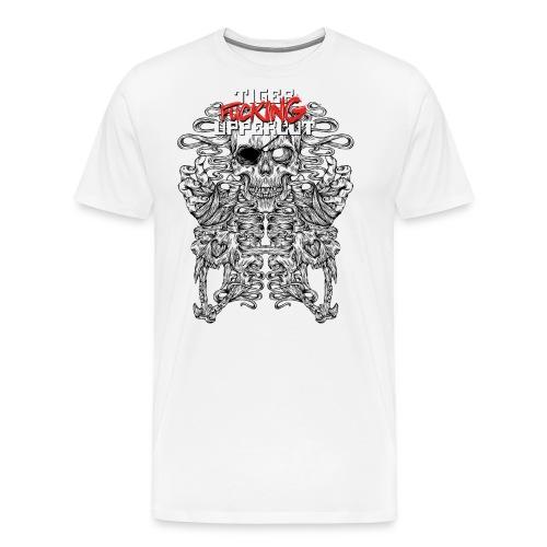 TFU Black Line Imagery Print Friendly EDIT png - Men's Premium T-Shirt