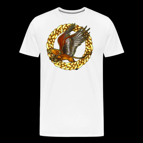Golden Gryphon - Men's Premium T-Shirt