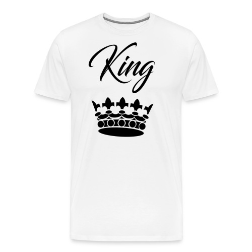 king crown - T-shirt Premium Homme