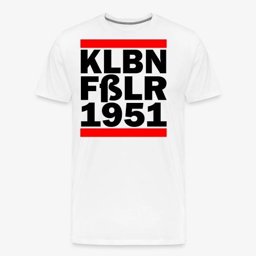 GUEST KLBNFßLER 1951 black - Männer Premium T-Shirt