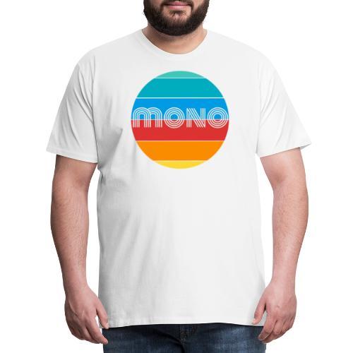 mono sun - Maglietta Premium da uomo