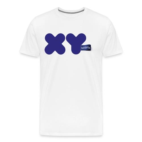 logo xy blue - Camiseta premium hombre