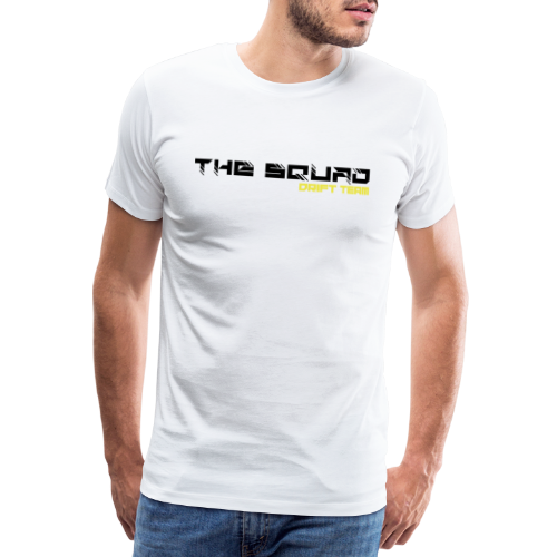 The Squad Logo Sort - Herre premium T-shirt