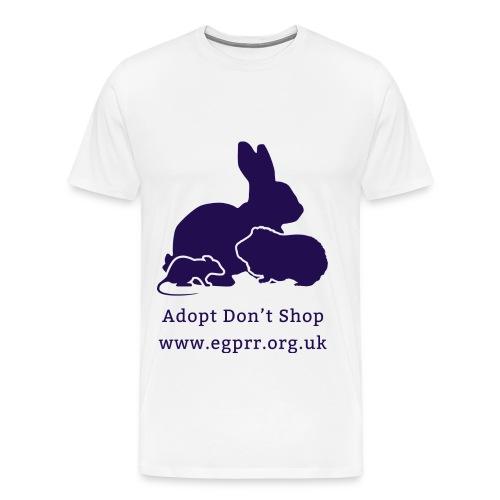 Adopt Don t Shop Dark - Men's Premium T-Shirt