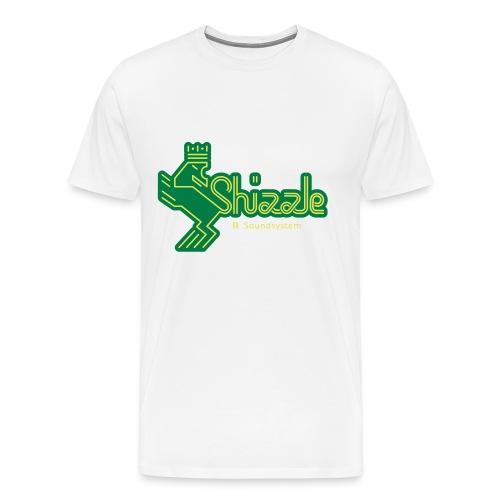 Lady's Hoodie Shizzle Soundsystem Black - Männer Premium T-Shirt