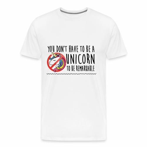 unicorn - Maglietta Premium da uomo