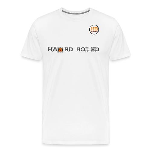 Schrift mit orangenem a - Männer Premium T-Shirt