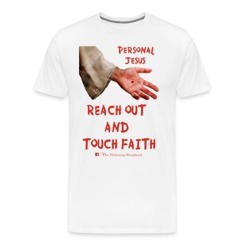 Reach Out And Touch Faith - Men's Premium T-Shirt