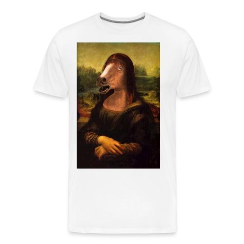 monalisa jpg - T-shirt Premium Homme
