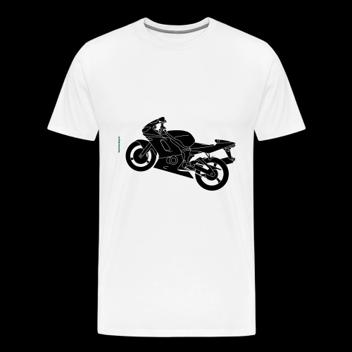 Mouse Mat - Drop A Gear, Disappear - Men's Premium T-Shirt