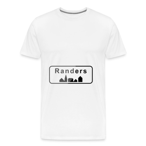 Randers Skilt - Herre premium T-shirt